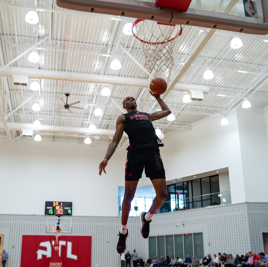 McDonald's All-American Game: Scottie Lewis puts on a show, takes second in dunk contest