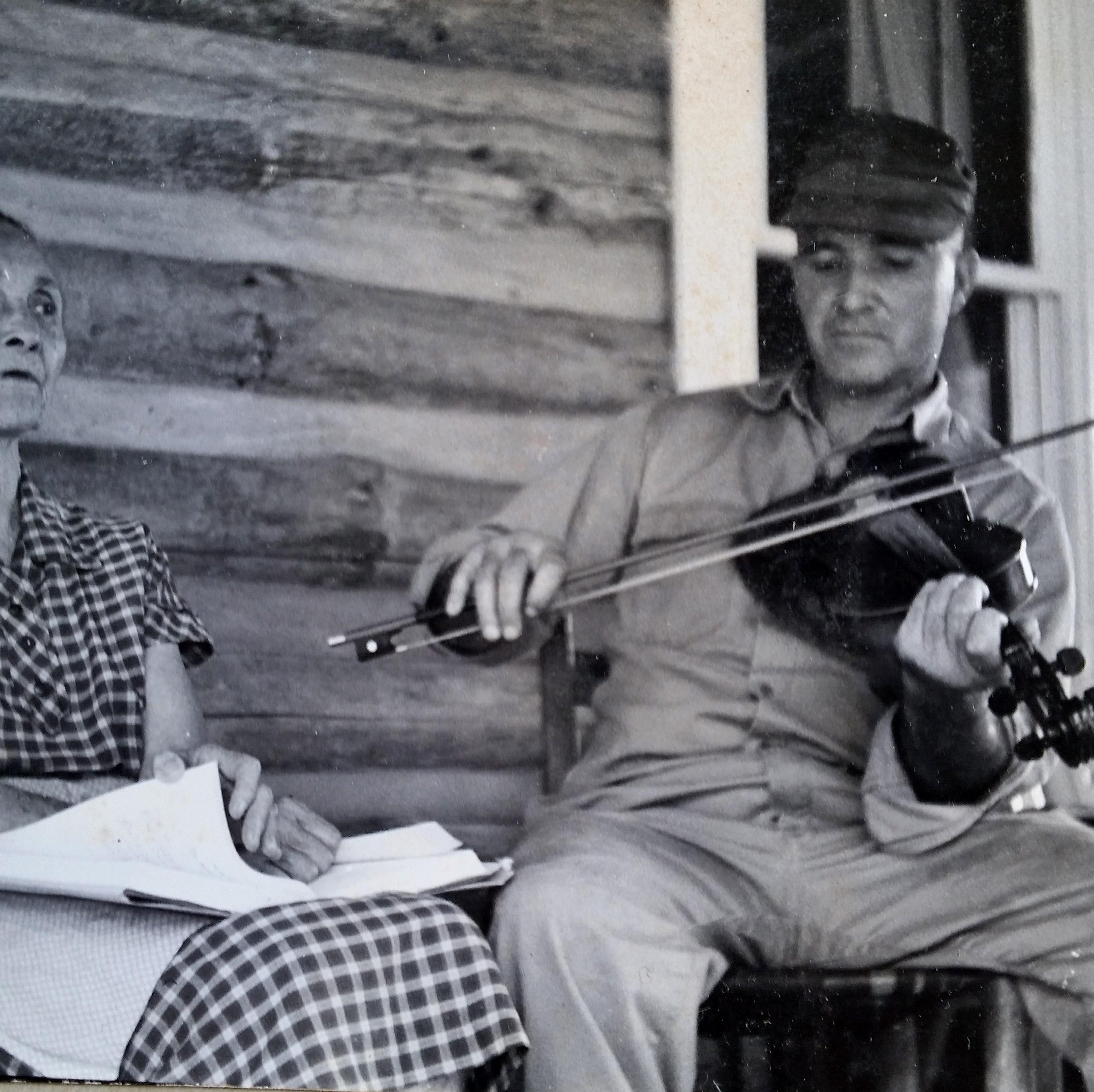 Portrait of the Past: Doug and Berzilla Wallin, 1962