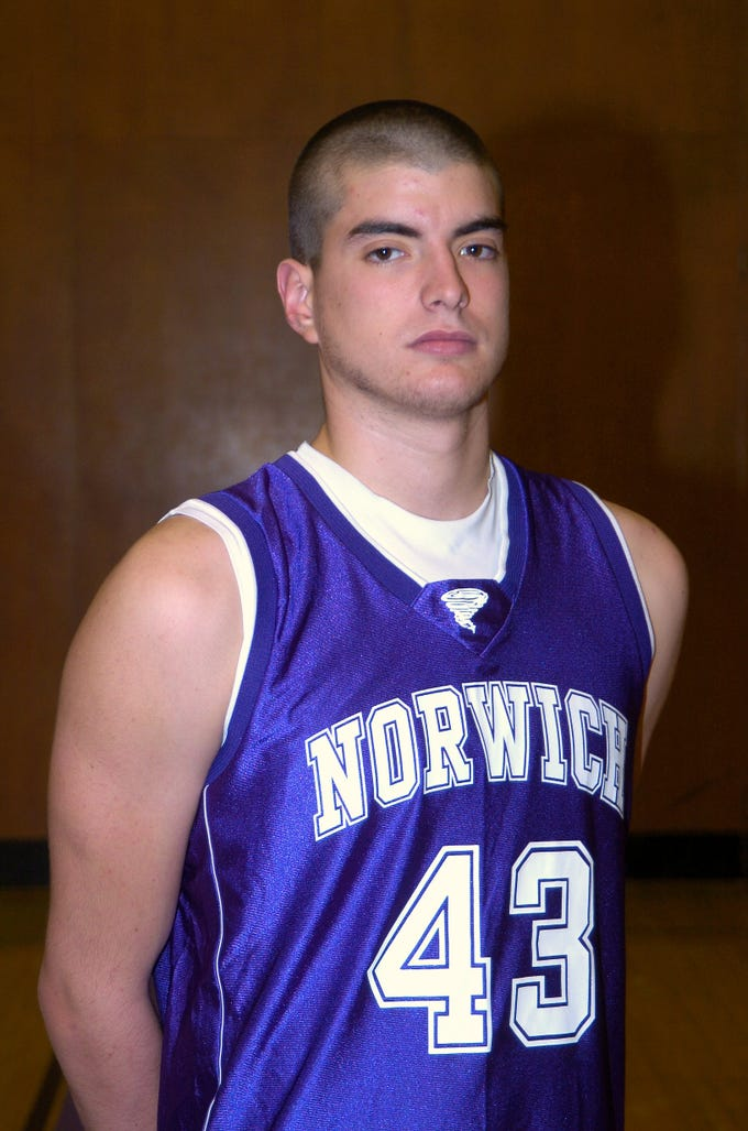 2006: Amos Parry, Norwich basketball.