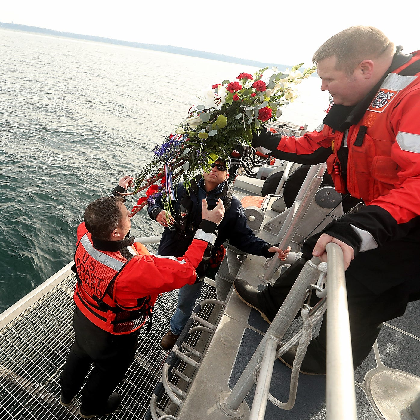 Coast Guard honors fallen shipmate's sacrifice for safety