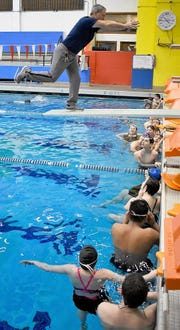Olympic High School teacher Steve Lutz teaches fitness, health and swimming.