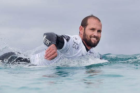 C.J. Hobgood of Satellite Beach enjoyed 17 years on pro surfing's elite circuit. He joined the Surfers Hall of Fame in California.