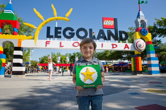 "He's a star! ""Modern Family"" star Jeremy Maguire, who plays Joe Pritchett, was the first guest to experience the Lego Movie World Land at Legoland Florida. The land is inspired by the ""Lego Movie"" films."