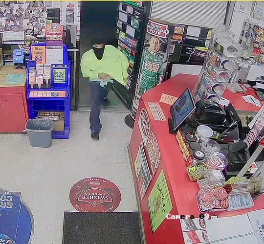Corpus Christi police need help identifying a man accused of robbing a convenience store in the 4200 block of Carroll Lane on Monday, March 25, 2019. Anyone with information should call detectives at 361-889-2840 or Crime Stoppers at 361-888-8477.