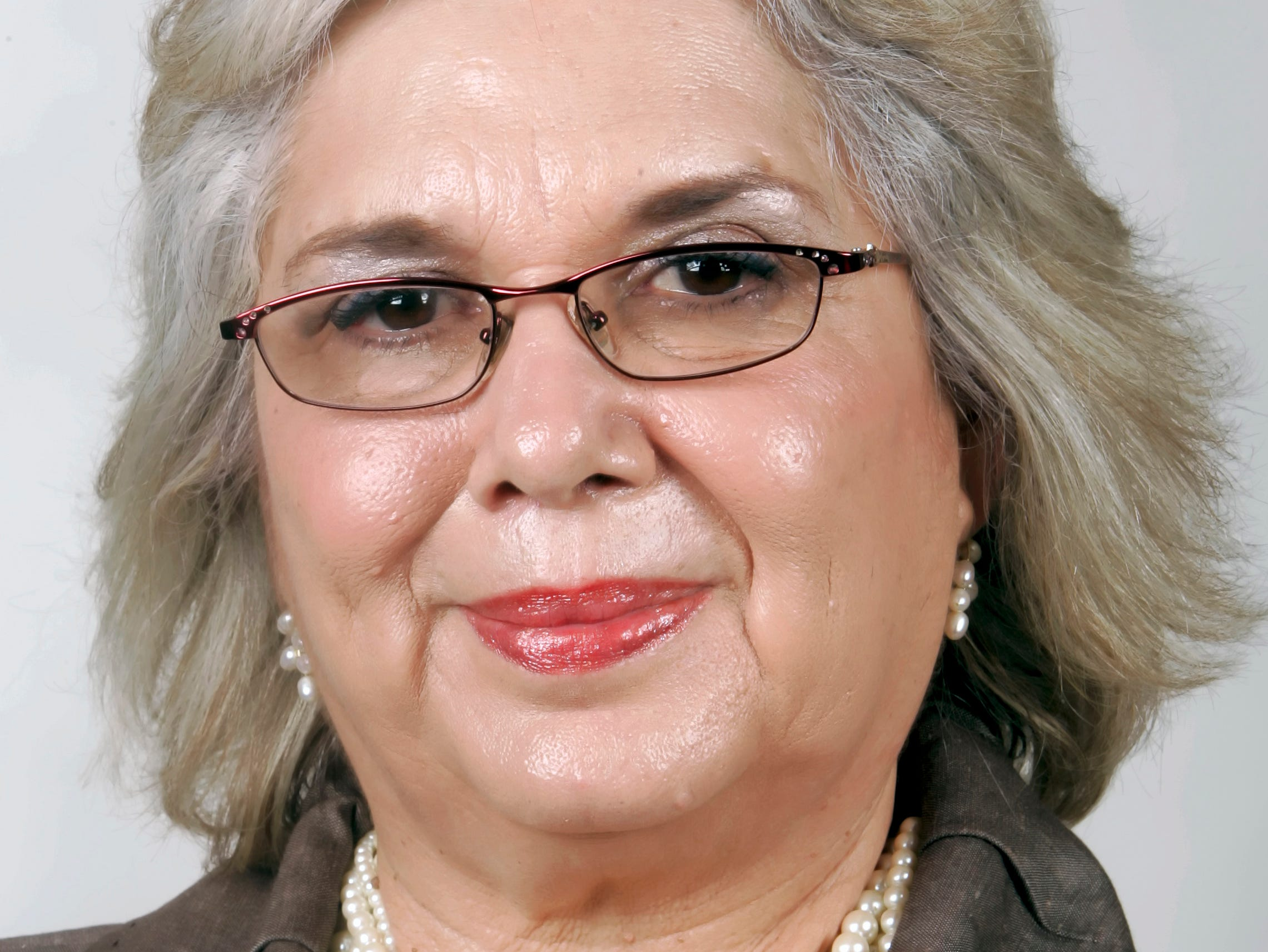 Judge Linda Reyna Yañez in 2010. She was the first woman to serve as a justice on the 13th Court of Appeals of Texas when appointed in 1993.