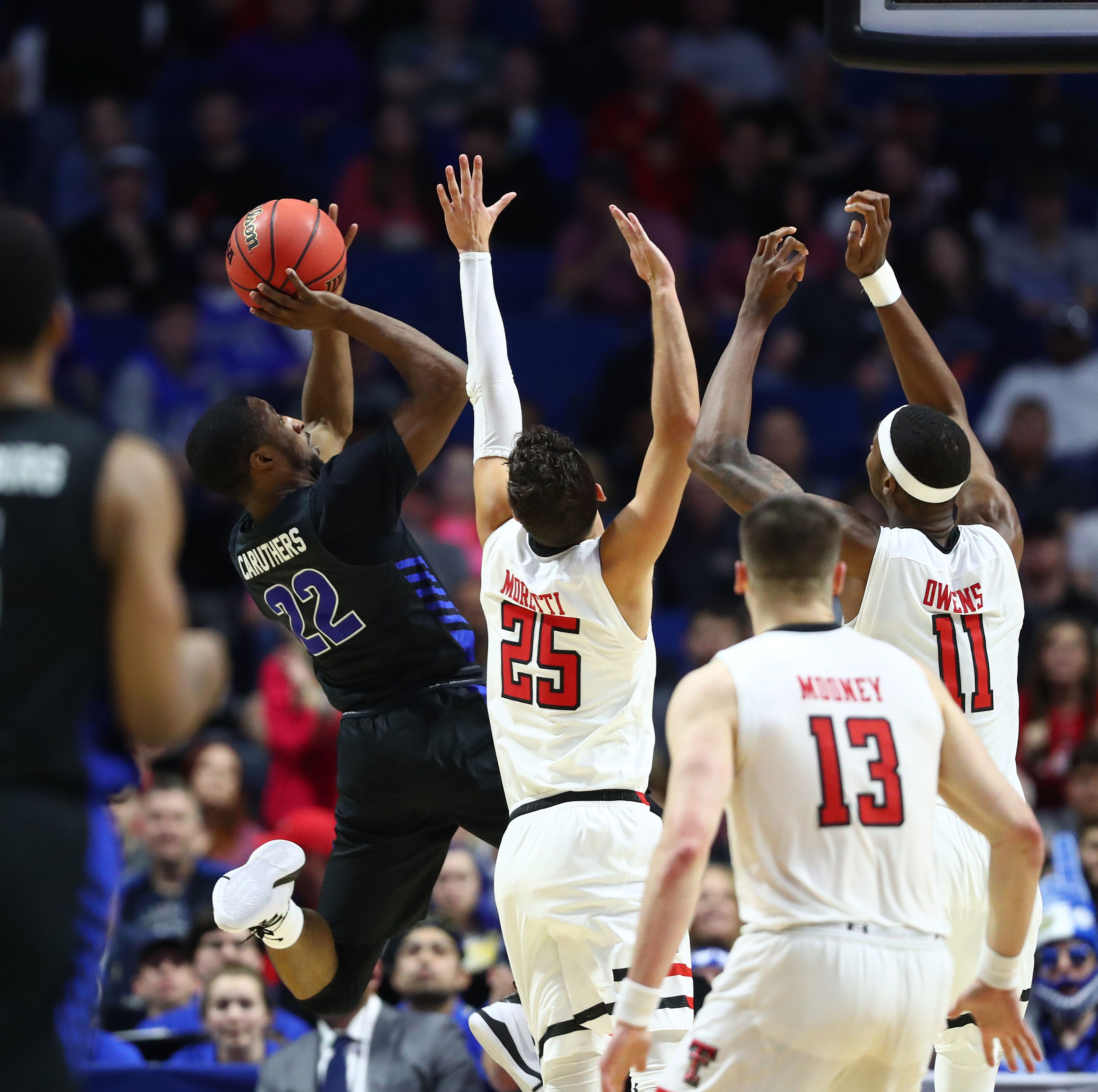 Texas Tech defense puts clamps down on Buffalo to return to the Sweet 16
