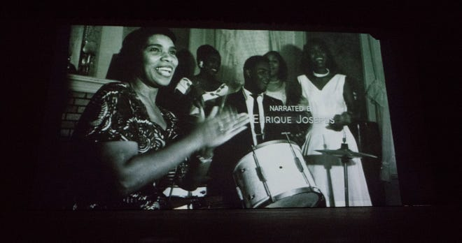 """A documentary entitled  """"Once in a Hundred Years:  The Life & Legacy of Marian Anderson"""" is screened at Camden Catholic High School in Cherry Hill on Thursday, March 21, 2019 .   Bill Nicoletti, a former Cherry Hill resident and Camden Catholic alum, is the producer and director of the documentary."""