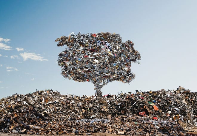 Metal recycling is the most sustainable form of recycling.