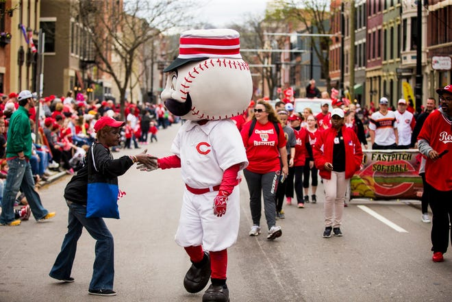 April 3, 2017:  The Findlay Market Opening Day Parade.