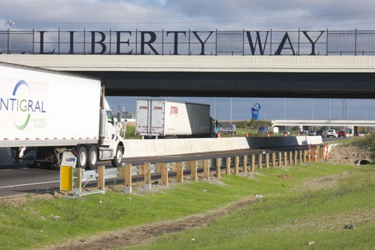 The Liberty Way Interchange opened in October 2009 and is the extension of the Butler County Regional Highway (Ohio 129) from its terminus at Interstate 75 eastward.