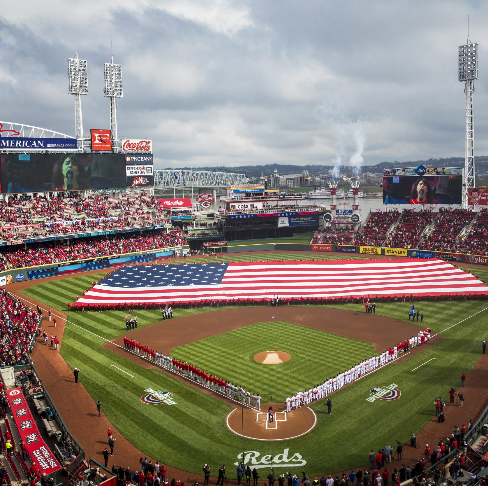 Quiz: How well do you know Cincinnati Reds Opening Day?