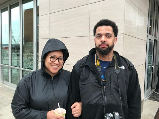 The Mueller report doesn't change how Alexis Green(left) and Eric Kemp feel about Trump. They don't like him.