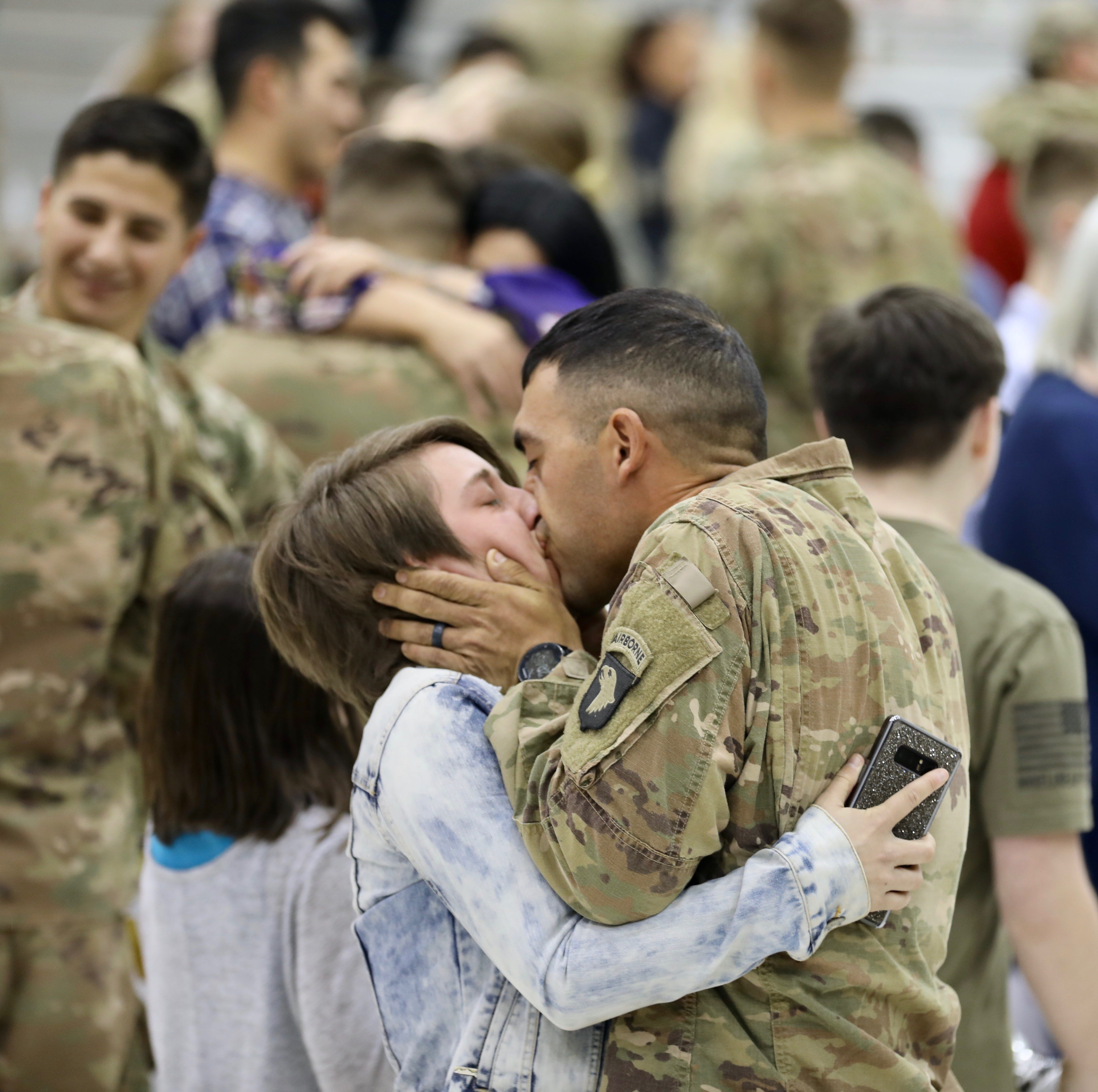 101st Airborne soldiers welcomed home from Cameroon