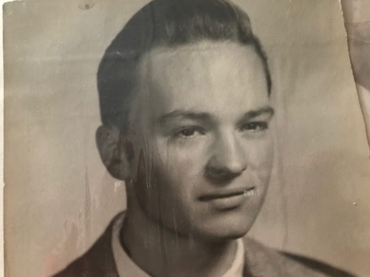 A high school photo of Frank J. Suliman