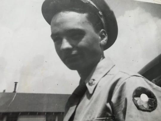 U.S. Army Sgt. Frank J. Suliman in uniform