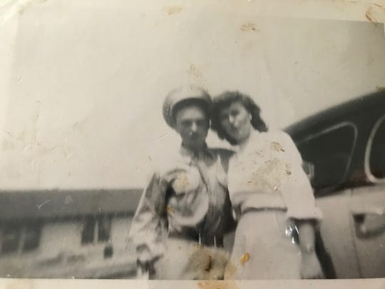 U.S. Army Sgt. Frank J. Suliman and his sister Olga Anderson