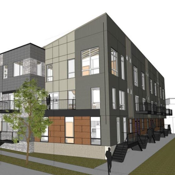 Townhomes for rent planned in downtown Des Moines' Gray's Station