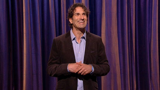 Gary Gulman played college football and worked as an accountant and gym teacher before launching a career in comedy.