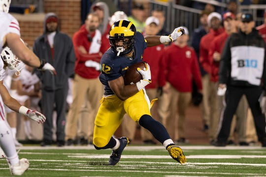 Chris Evans carried for 423 yards and four touchdowns in 11 games last season, averaging 5.2 yards per carry.