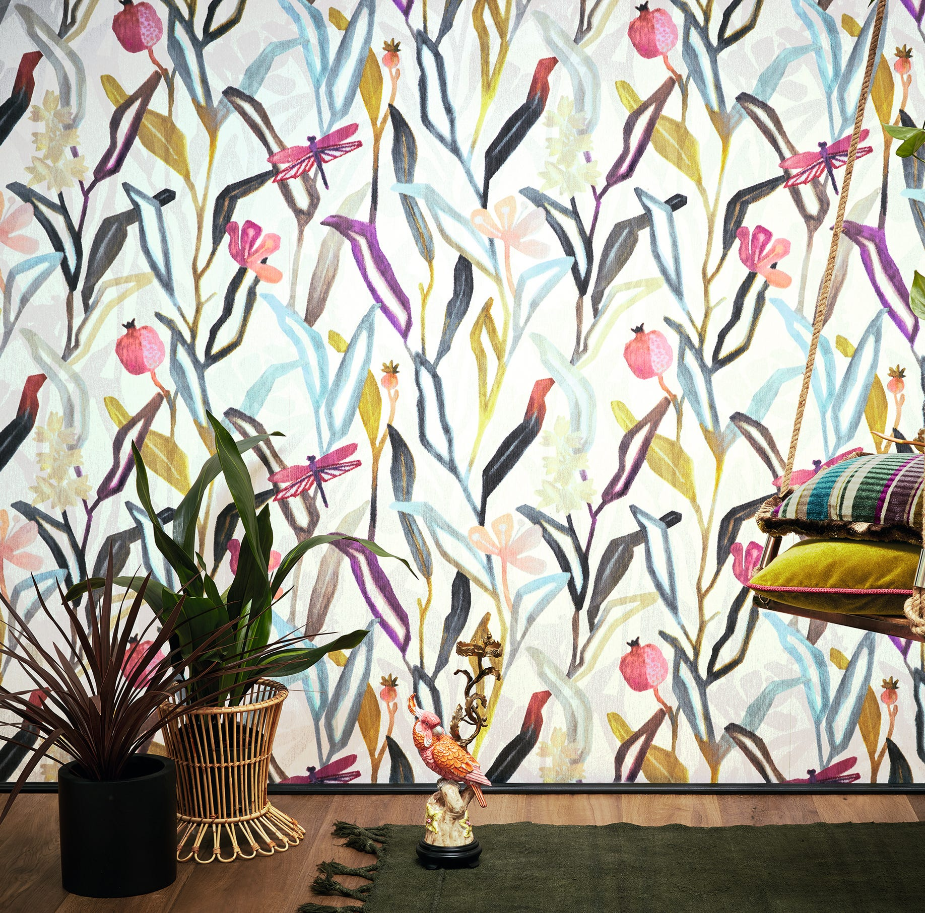 Revolutionary wallcovering designs dazzle at trade fairs