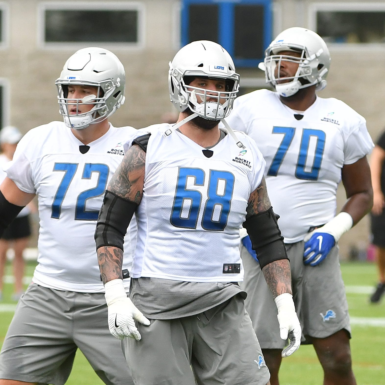 Lions still undecided on Taylor Decker's fifth-year option