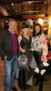 Scott Ferguson, host Sue Fuller, and Renee Godin, owner RGA Model Management