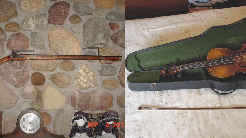 Tips sought in theft from Chesterfield Twp. historic log cabin
