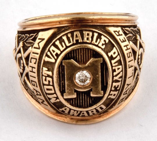 Steve Howe's Michigan ring.