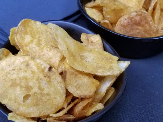 Fresh fried Prime chips at Prime Time Pub & Grill.