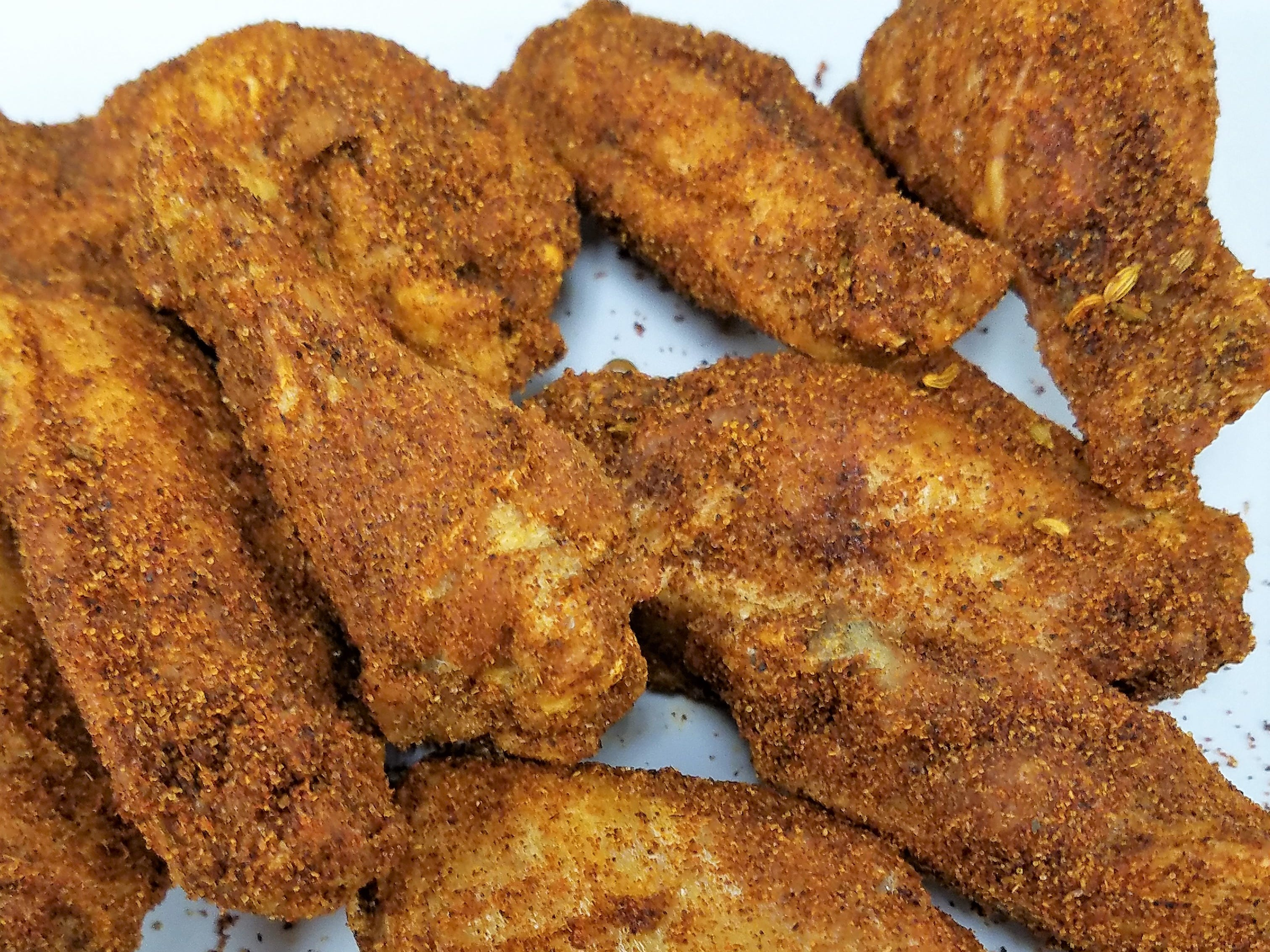 Dry rub wings at Prime Time Pub & Grill.