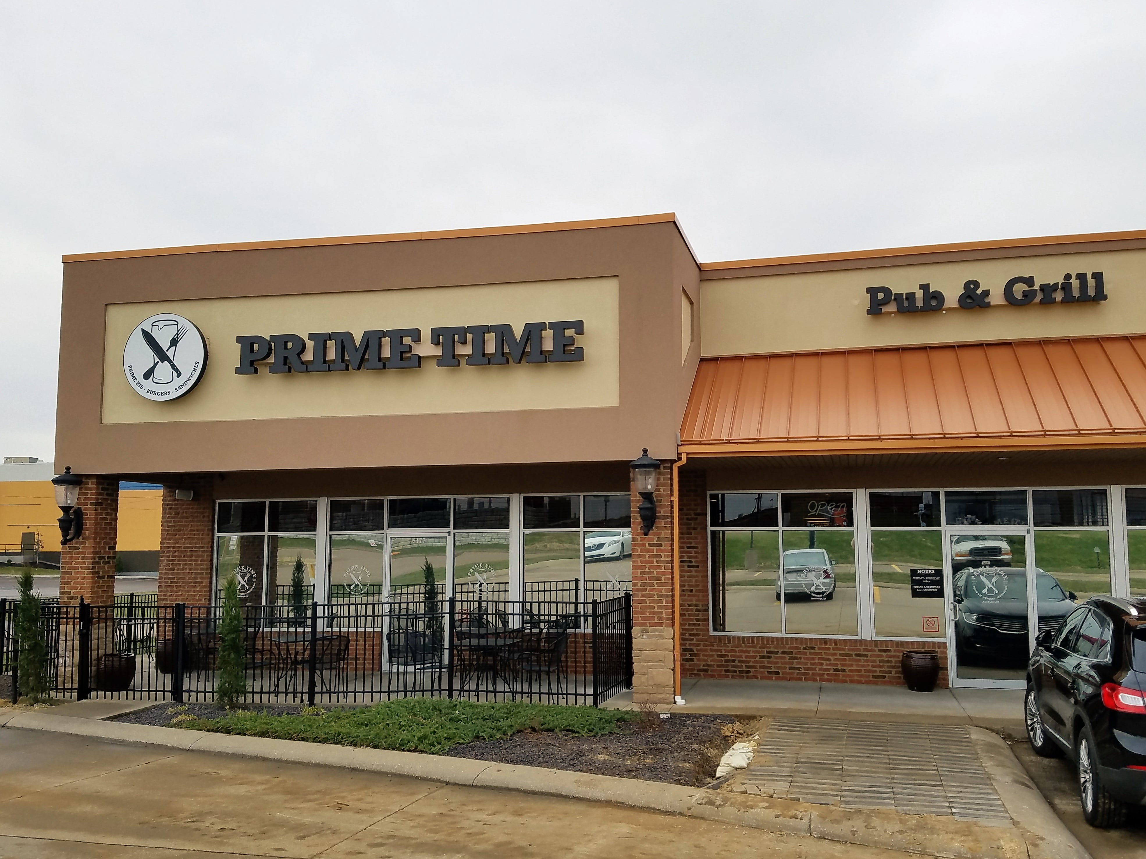 The Prime Time Pub & Grill is located in the former Beef O'Brady's location on Bell Oaks Drive in Newburgh.