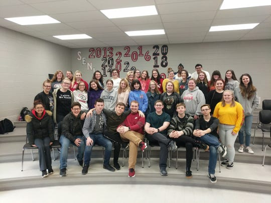 Port Clinton High School Chorale was rated Superior at the OMEA District Large Group Contest.