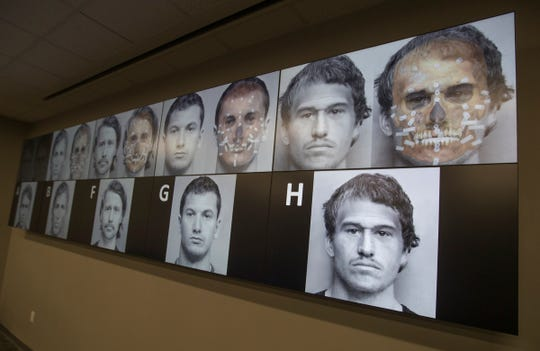 In a collaboration between Fort Myers Police and Miami-Dade PD, new digital facial re-constructions were generated to develop the portraits of 5 men who are still unidentified after being discovered in March of 2007 buried in a Fort Myers field.