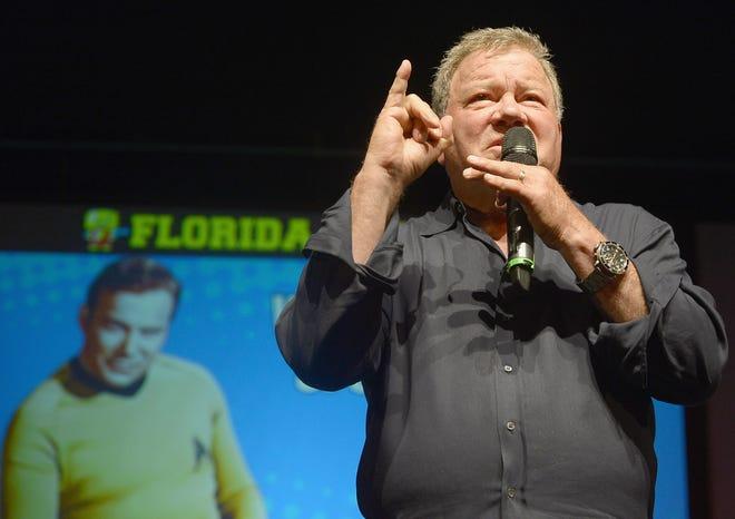 MIAMI BEACH, FL - JULY 02:  William Shatner attends Florida Supercon 2016 at Miami Beach Convention Center.