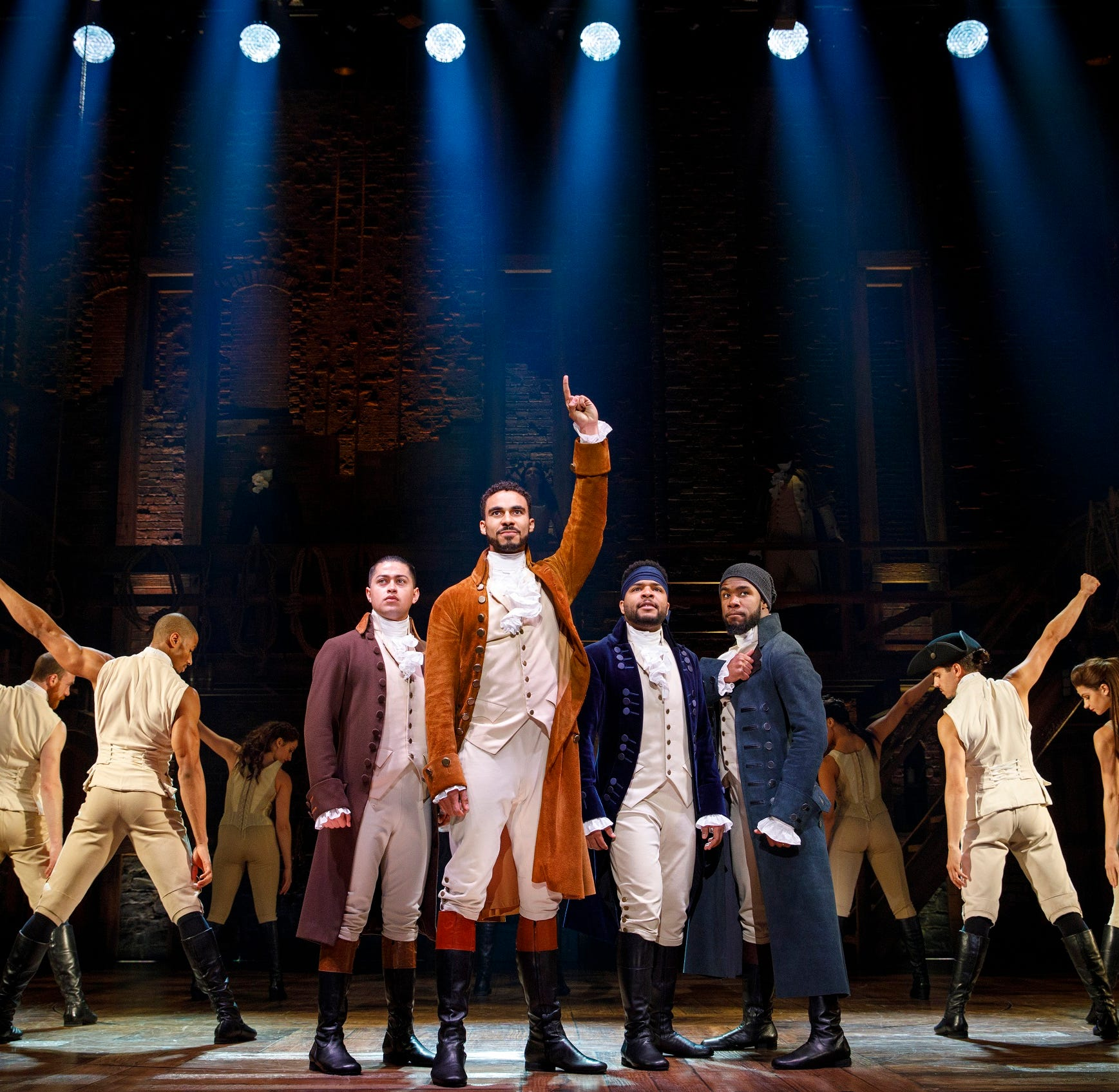 'Hamilton' coming back to Peace Center in Greenville