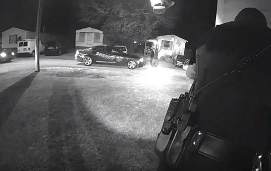 Body camera footage released by the Greenville County Sheriff's Office shows the moments leading up to a fatal deputy-involved shooting in February.