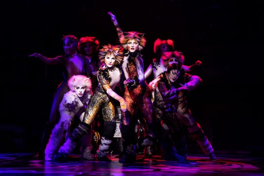 """CATS,"" which first played the Peace Center in 1991, returns for the 2019-2020 season."
