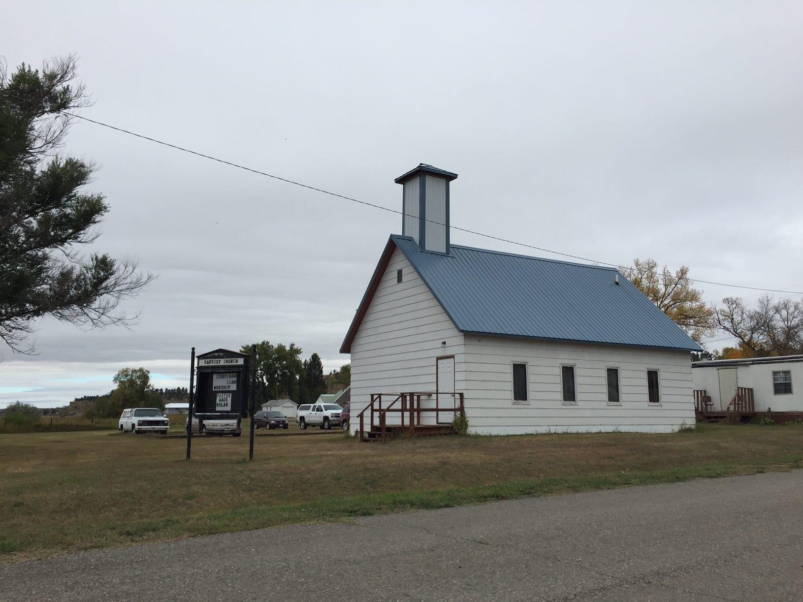 Can you find it? Hasn't run Church in Ryegate. TRIBUNE PHOTO/ERIN MADISON