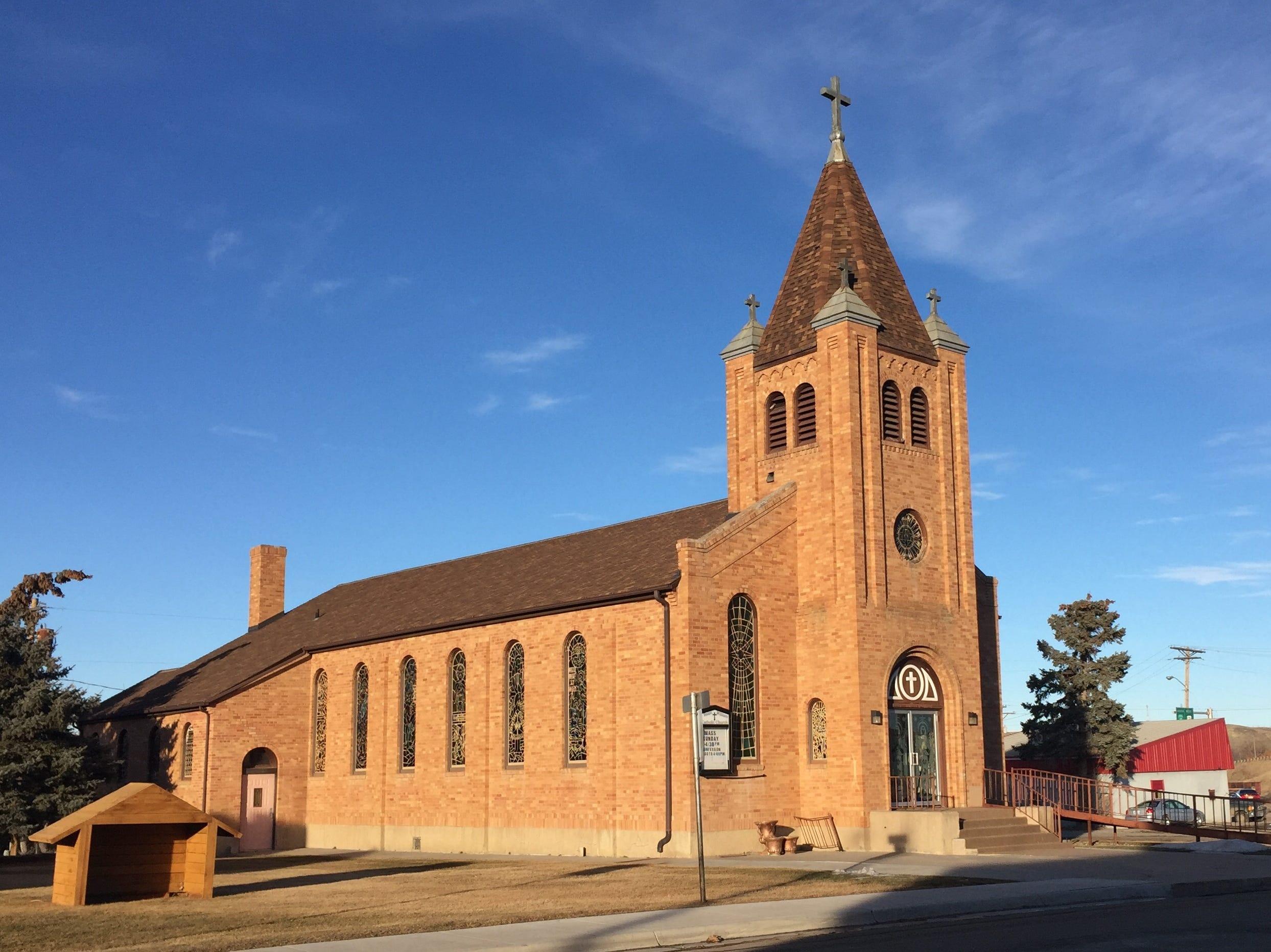 Saint Williams Catholic Church is a gem on Main Street Shelby.