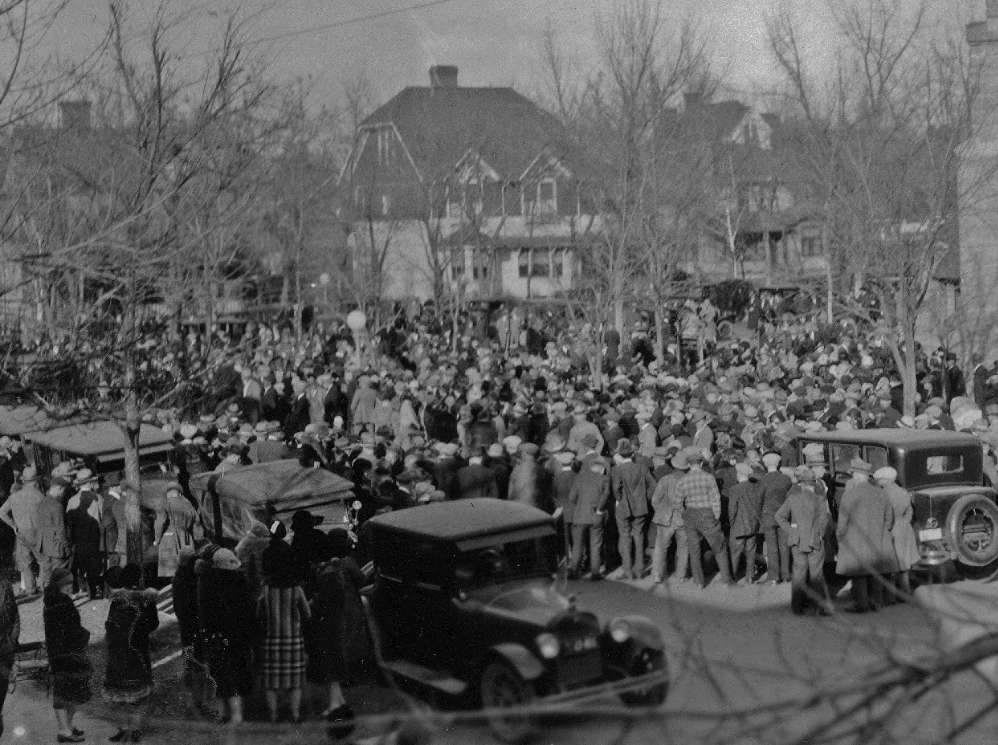 The Episcopal Church of the Incarnation hosted Charles M. Russell's funeral on Oct. 27, 1926, after his death on Oct. 24, 1926.