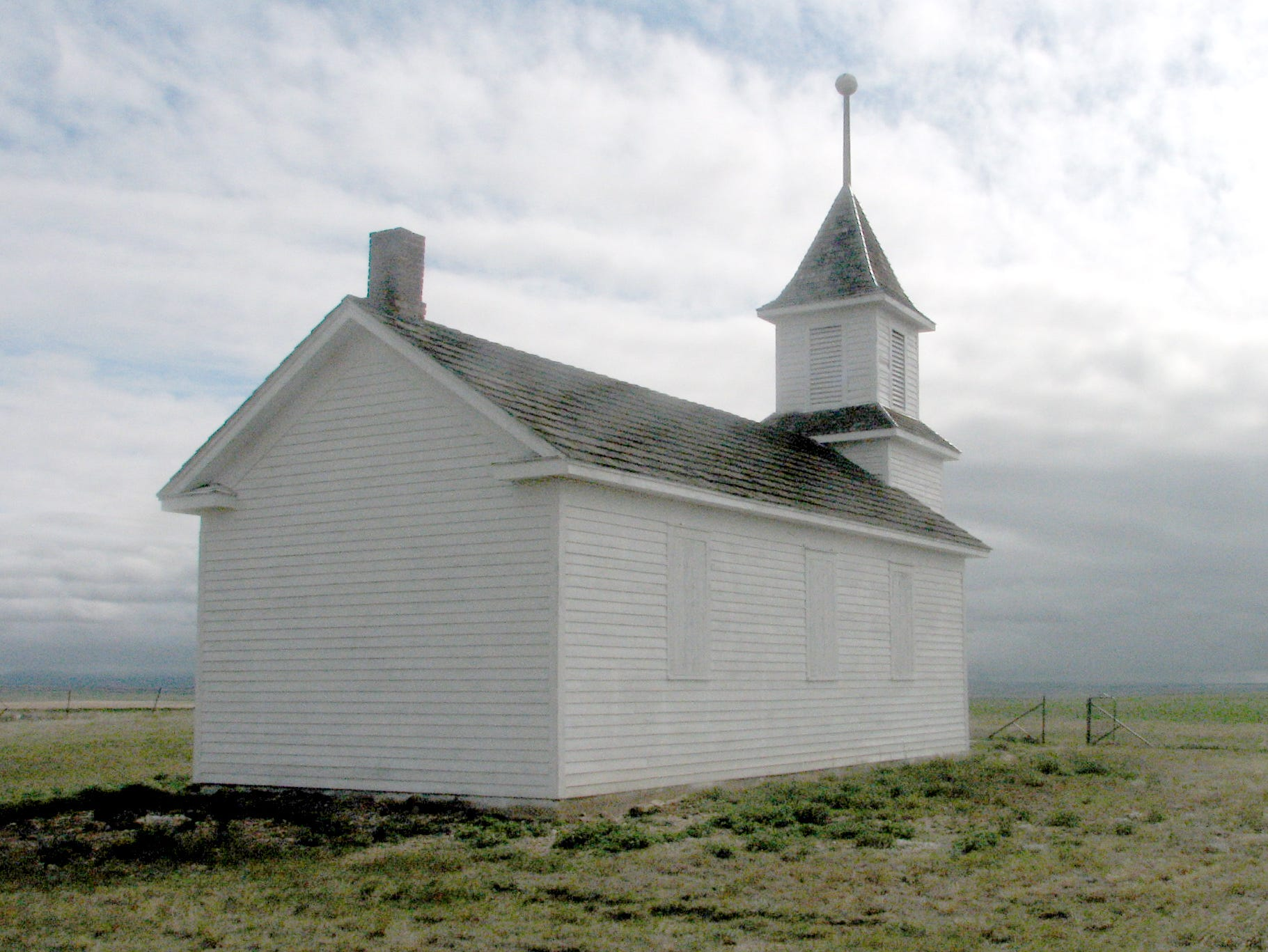 Bethany Lutheran Church, Toole County, 11 miles east of Oilmont.