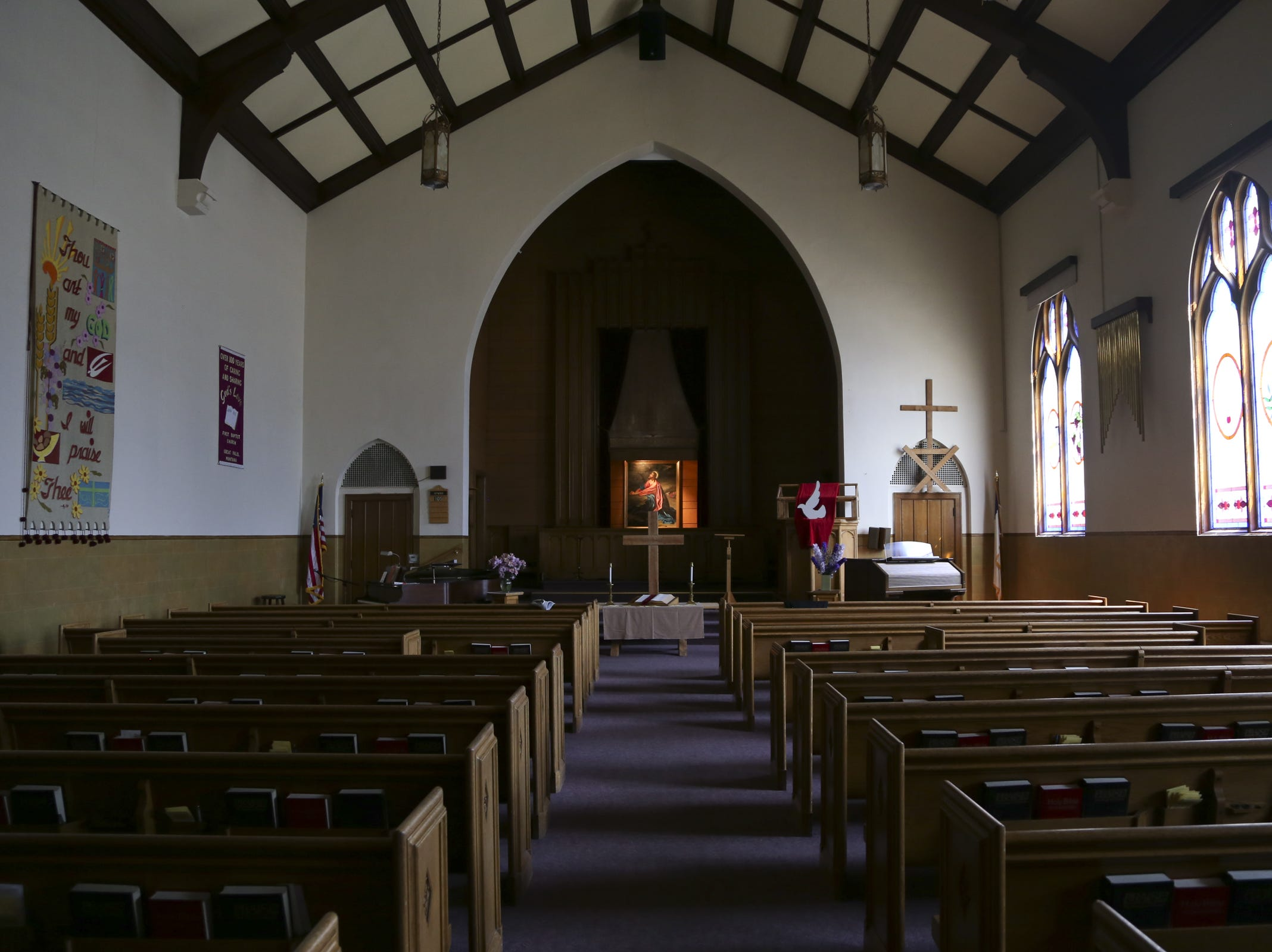 The First Baptist Church in Great Falls celebrated its 125th birthday in 2014.