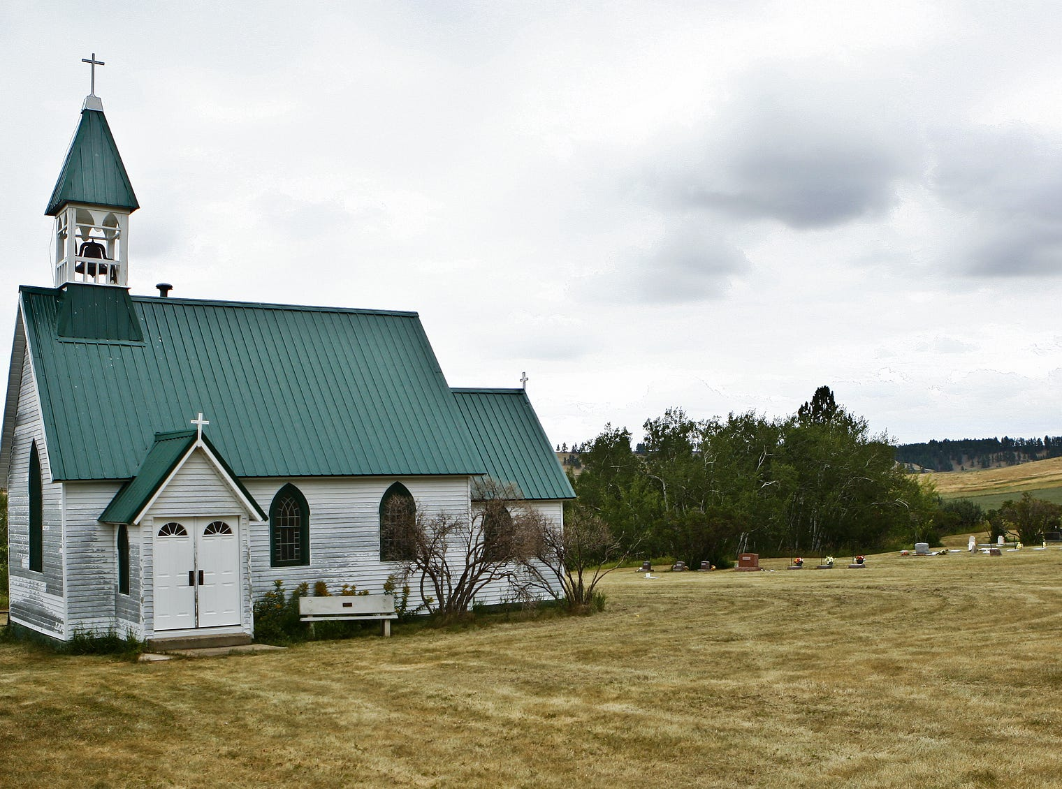 The church in Forest Grove originally was built in 1907 as an Episcopal church. It's now community owned, and services are held twice a month during the summer as well as on Christmas and Easter.