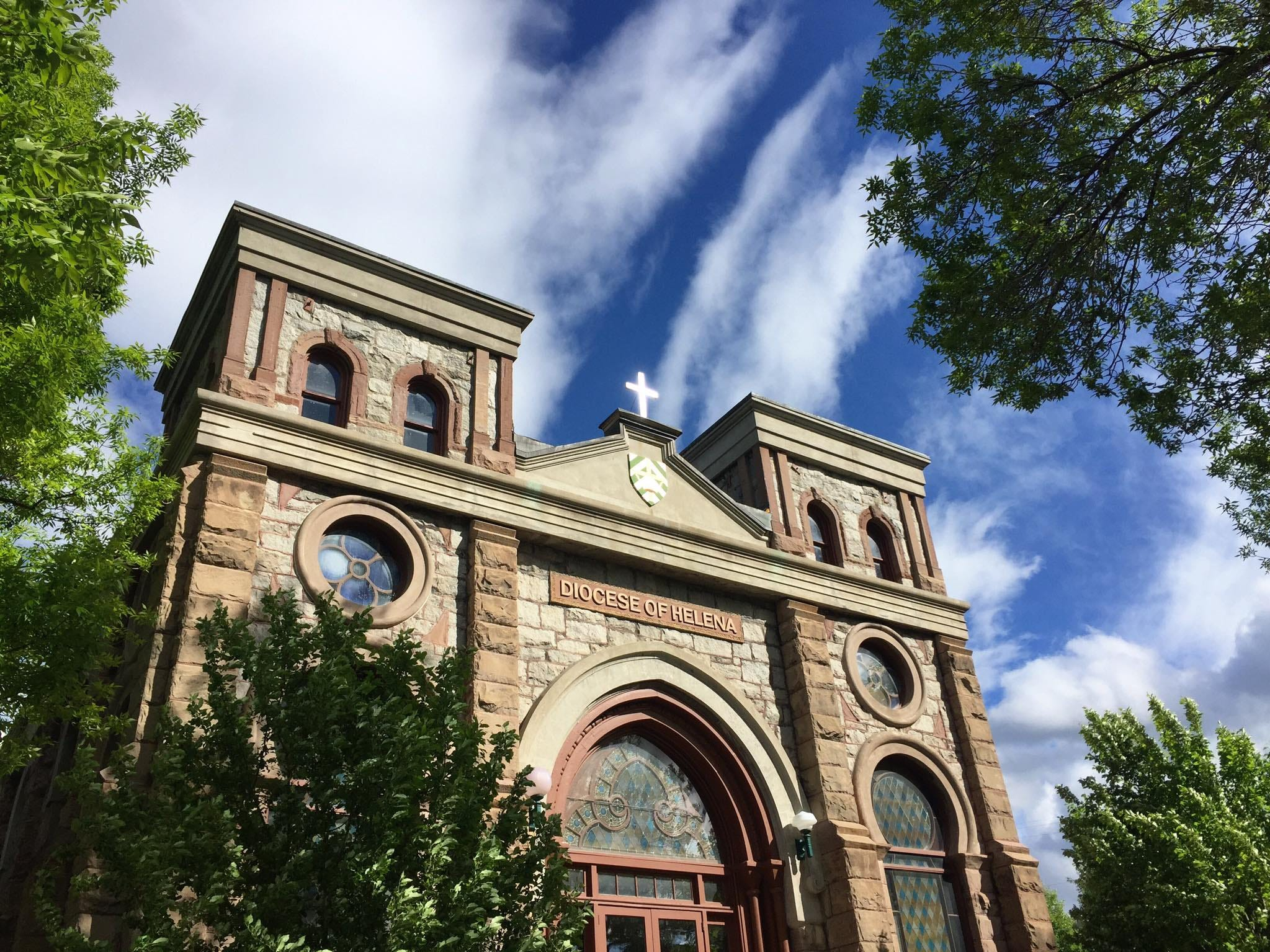 A former synagogue in Helena now belongs to the Catholic Diocese.