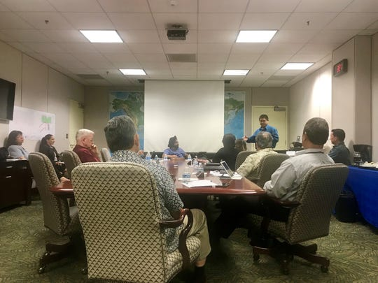 The Guam International Airport Authority meets at a special board meeting to discuss its fiscal year 2018 financial audit report on Monday, March 25.