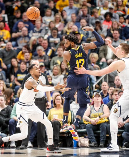Photos: Pacers Snap Skid, Blowout Nuggets At Home