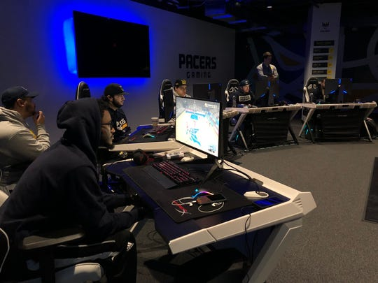 The Pacers Gaming team gets in a preseason scrimmage ahead of Year 2 in the NBA 2K League.
