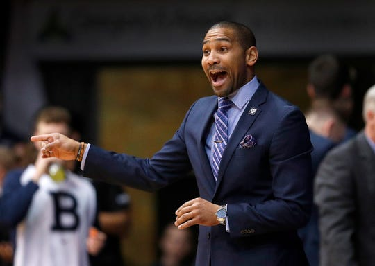 LaVall Jordan has a 37-31 record in two years as Butler coach.