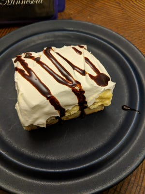 """Why hassle with making a complicated actual eclair when """"eclair dessert"""" is delicious enough by itself?"""