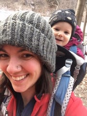 Maddie Ulinski and her son Milo both love being outdoors.
